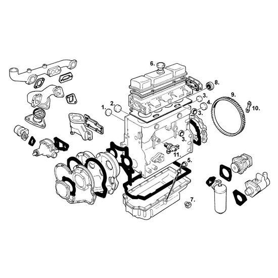 startkrans volvo - reservdelar f u00f6r traktor